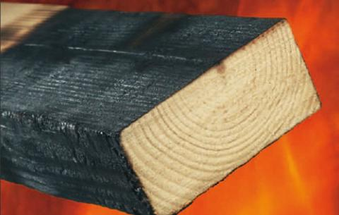 Fire retardant intumescent treatment sasco products for Exterior fire retardant treated wood